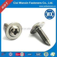 M10 wafer truss head galvanized self tapping screw
