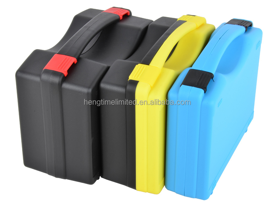 Amazon hot sell PP plastic medical carrying cases with OEM cutting foam