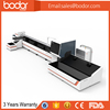 Fiber laser cutter for square tube 6m long with electric rotor