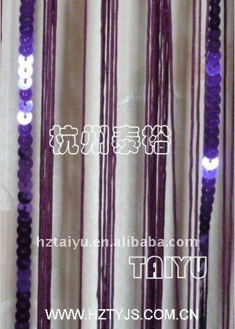 fire-proof string blinds purple