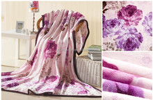 Wholesale cheap colorful blanket stocklots H4404 heavy soft flannel blanket overstocks