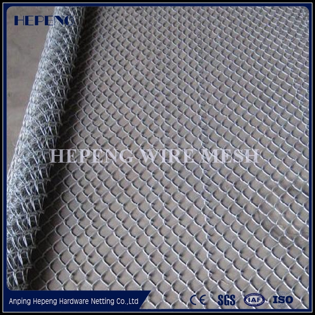 PVC Coating Chain Link Rolls Fence / Panel