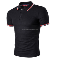 Wholesale OEM high quality cotton custom logo men's polo shirt