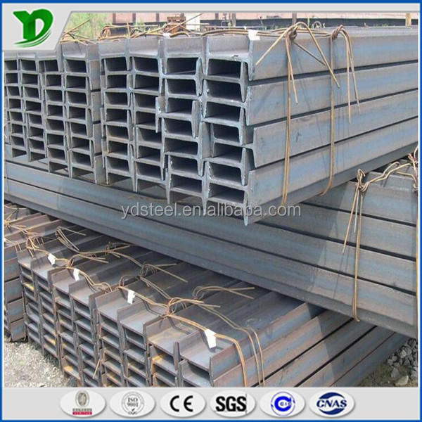 hot sale high quality standard wide flange galvanized i beam steel size ss400 q235 dimention in china