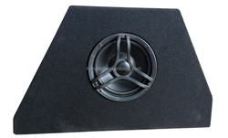 Professional Subwoofer Dual 8 inch powered best car audio subwoofer for golf 7 fans