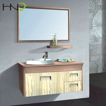 Cheap small bathroom vanity sink and cabinet combo Made in China