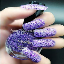 Oil based sweet color nail polish Private label metallic color nail po...
