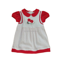 100% cotton comfortable and beautiful infant baby dress