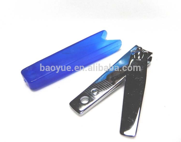 Nail clipper with blue pp cover