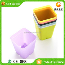 Wholesale Price Plastic Colored Garden Flower Pots Tray