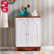 Wholesale funiture modern design 2 drawers tall shoe cabinet