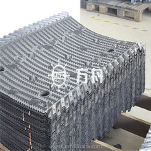 Open and closed cooling Tower Fill sheets PVC filler