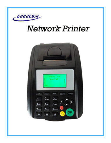 Wireless Network Printer , with WIFI/LAN/3G functions all-in-one! For food online ,lottery,tickets,etc.