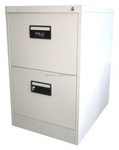 High Quality Stainless Steel 2 drawer Vertical Filing Cabinet Office Used Godrej steel furniture 2 drawer A4 filing cabinet/ doc