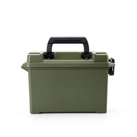 Portable tool boxes plastic ammo case