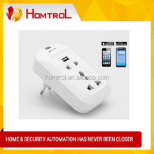 Homtrol PRO Cell Phone Remote Control Wireless WiFi Smart AC Power Socket Switch Plug Outlet Good Quality