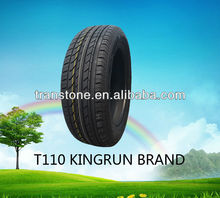 KingRun Brand T110 hp China passenger car tyre new 205/55R16 with competitive price