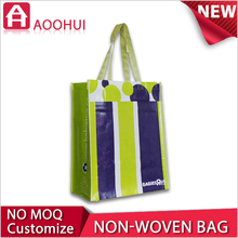 Hot sell factory price sport medallion non woven tote bag