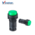 self-locking led push button switch Convex head button red green yellow 22mm