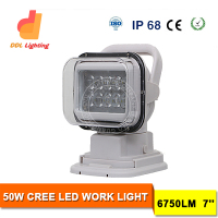 Whiite Tuning Light LED Work Light CE Rohs Approved IP68 Portable 12V DC 50W Car LED Worklight