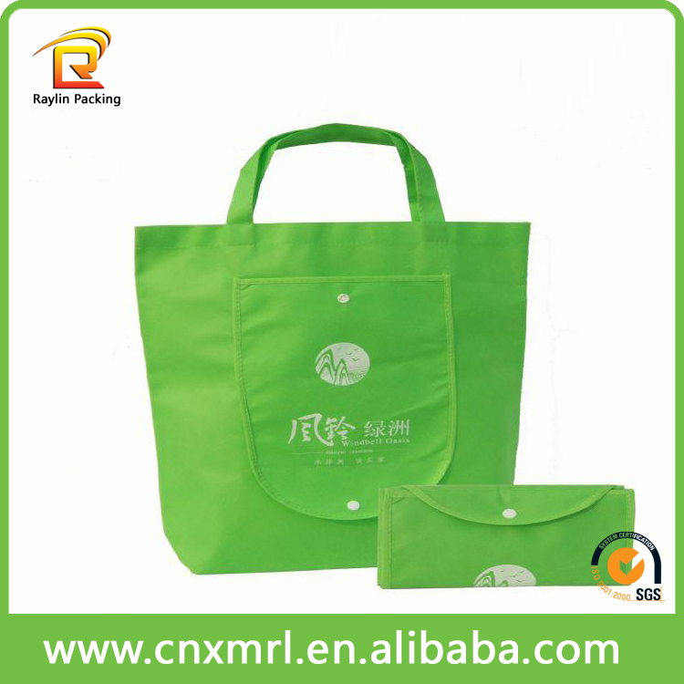 China fashion eco-friendly PP Laminated non woven bags 2016