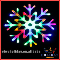 Most popular Indoor Christmas window decoration acrylic led snowflake silhouette light for decoration