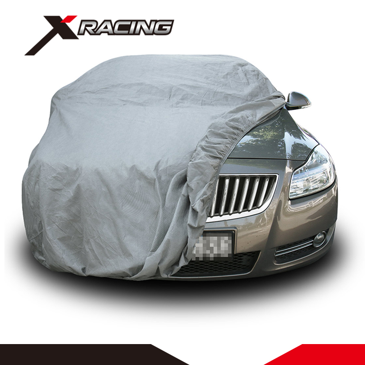 Customized universal 4 layers folding waterproof canvas car cover