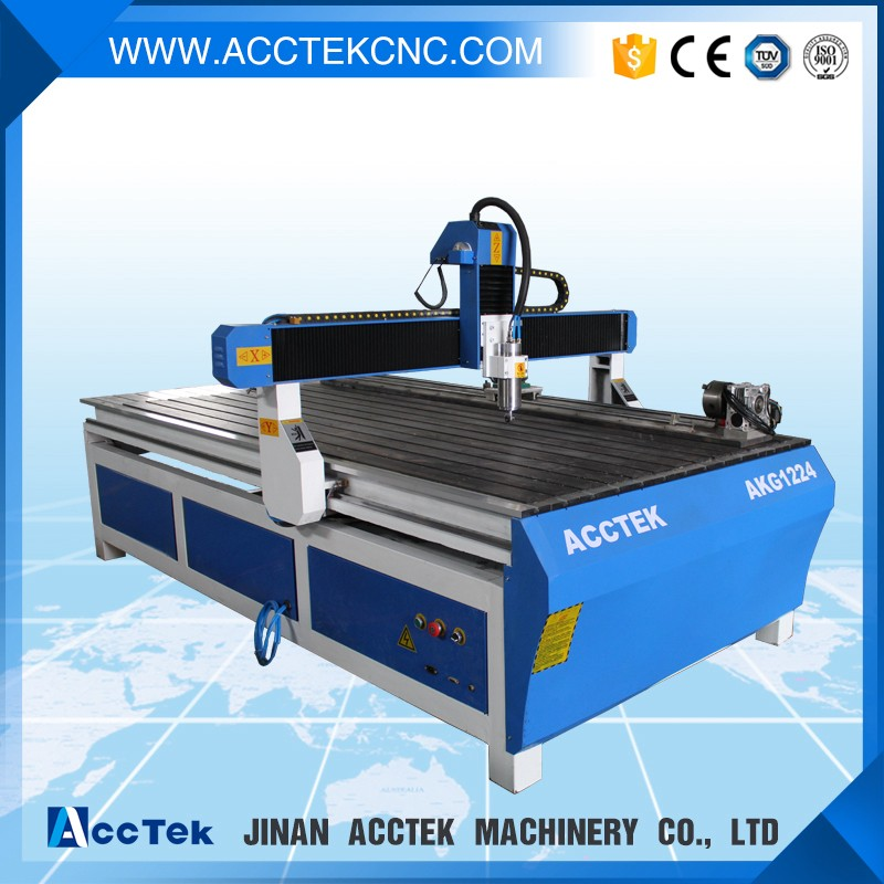 Distributor wanted cnc router with 4 axis rotary