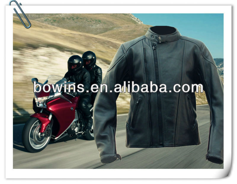 leather racing jackets in black, sport jackets by motorbike