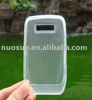 Transparent Resin Soft Skin Case for Nokia E71