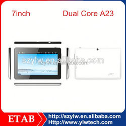 Cheapest 7 Inch A13 single core 800*480 screen laptop tablet