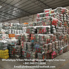 Wholesale used clothing in bales sale second hand clothes