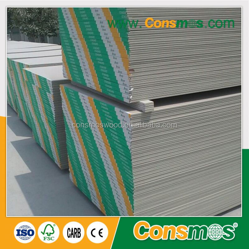 construction material 6mm gypsum board thailand