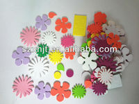 color flowers stickers kids handwork crafts