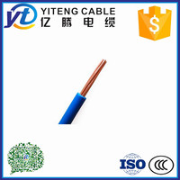 hot sale 2.5mm2 BVR copper conductor PVC insulated electric wires price
