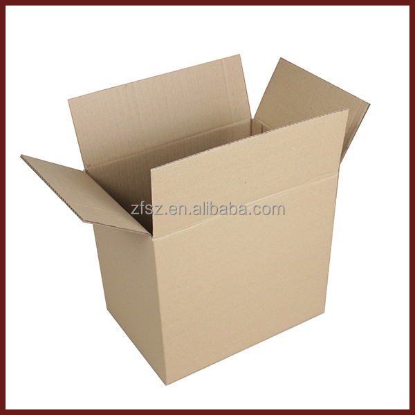 FEFCO 0201 shape B3B double shipping brown paper corrugated carton <strong>box</strong>