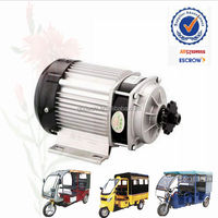 Brushless DC motor for electric auto rickshaw