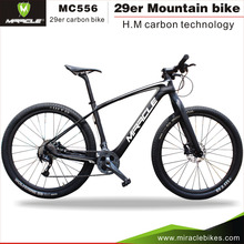 Full carbon fiber mountain bike frame 2016 taiwan bicycle parts complete bike carbon with best groupset
