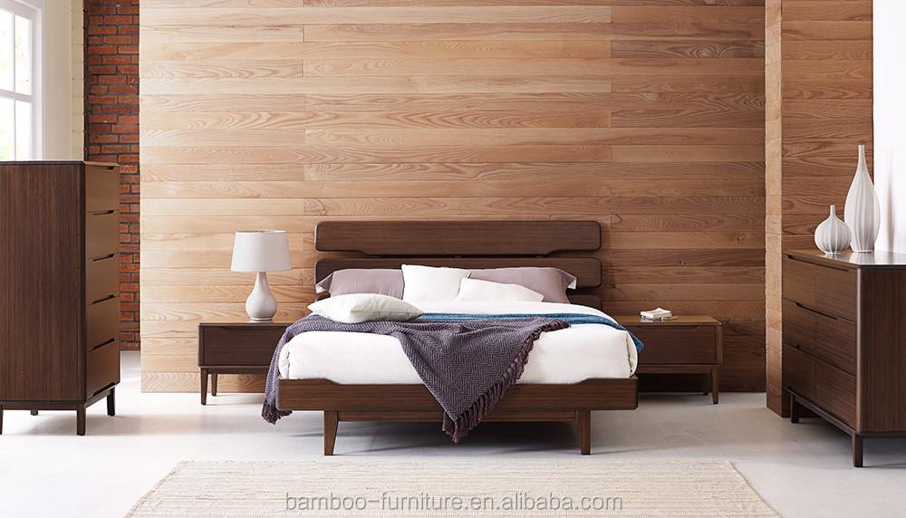 대나무 가구 현대 대나무 침대 컬렉션 침실 가구 최신 더블 침대 ...