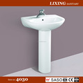 Ceramic bathroom Pedestal basin