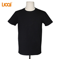 Luoqi Clothing Manufacturer Custom Plain 95%Cotton 5%Spandex Fleece Winter T Shirts In Bulk Wholesale T shirt Stocks
