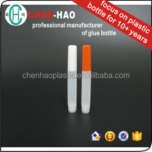 Adhesives Glue Bottle plastic nail glue for electronic smoke oil dropper
