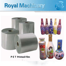 food and beverage clear plastic labels maker