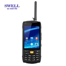 SWELL N2 pda mobile android rugged phone filled industrial application of thermal printer,Barcode scanner and RFID reader pda