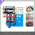 Hot selling silicone wristband molding machine , plastic bracelet maker equipment
