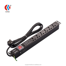 19 inch rack mount surge suppressor PDU/rackmount surge protector