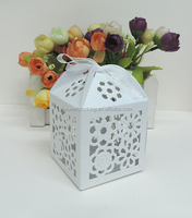 Wholesale alibaba paper candy box popular products in usa,laser cut flower candy box