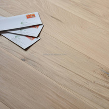 190mm width unfinished white oak wood flooring prices
