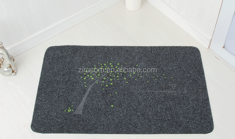embroidered anti slip pvc carpets ,Multi colors custom anti slip Eco-friendly pvc floor mat roll
