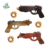 China product hot sale wooden animal shape toy rubber band guns
